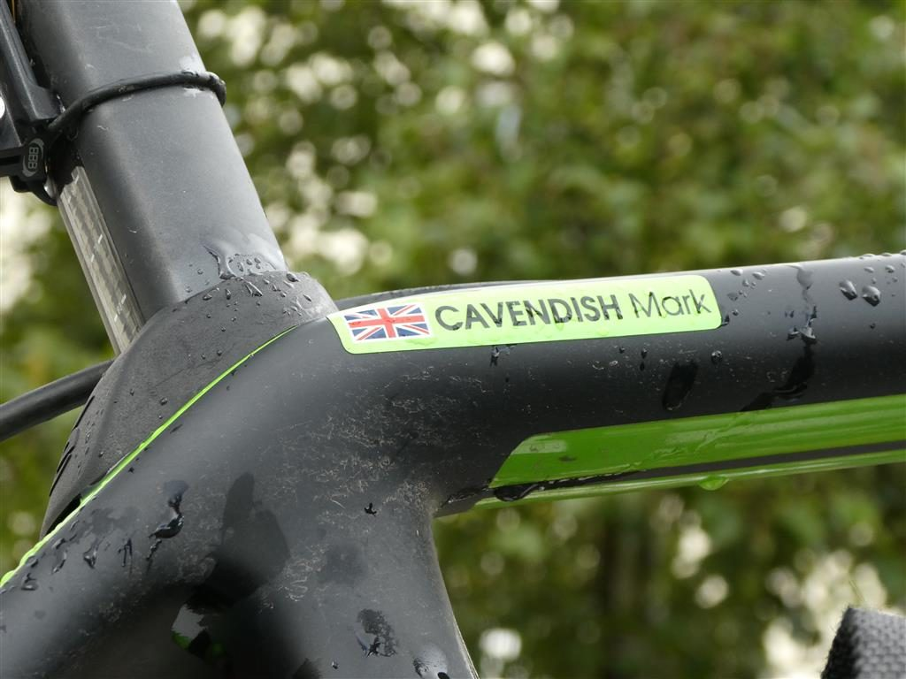 Mark Cavendish's Bike