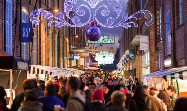 Gloucester Quays Victorian Christmas Market