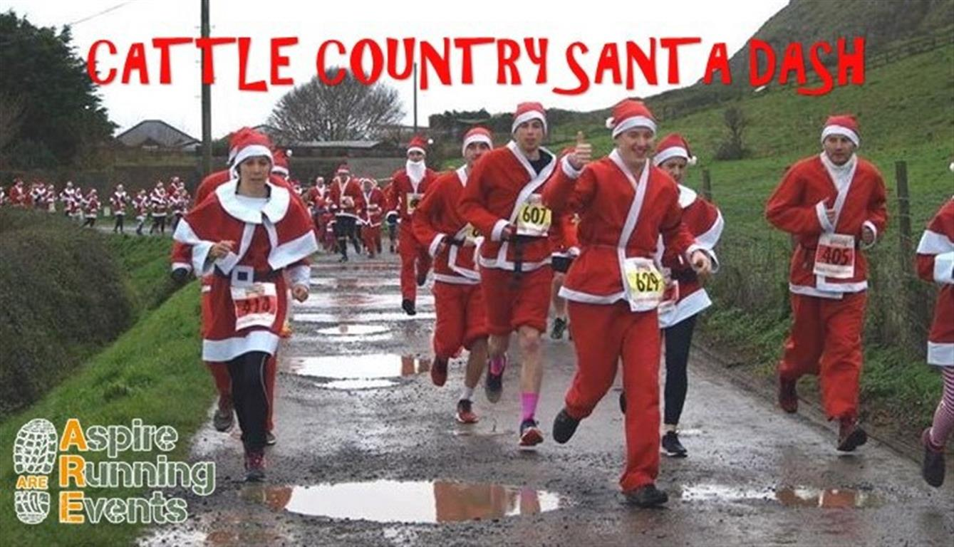 Cattle Country Santa Dash